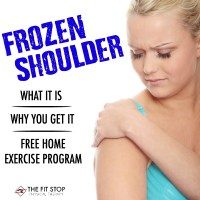 How to treat frozen shoulder