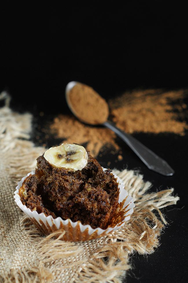 Najlepsze muffinki bananowe z karobem