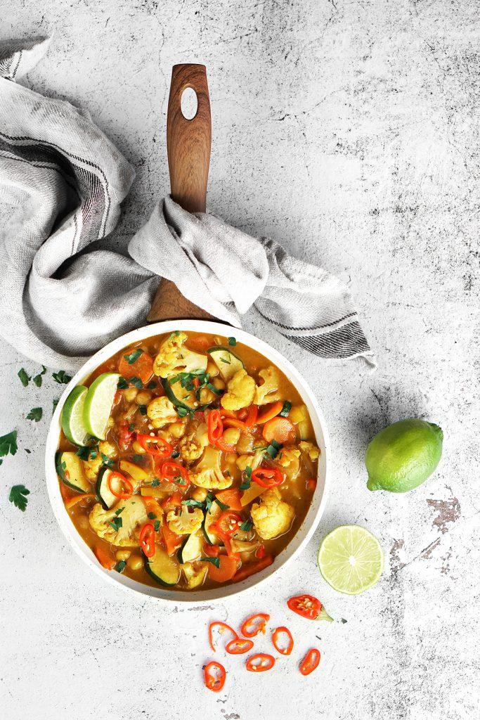 Najlepsze warzywne curry