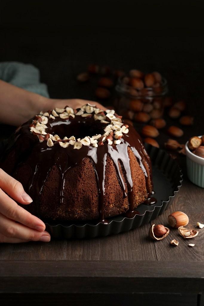 Babka czekoladowo-orzechowa