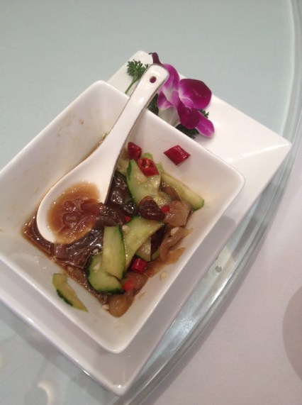 sea cucumber salad (definitely didn't try this)