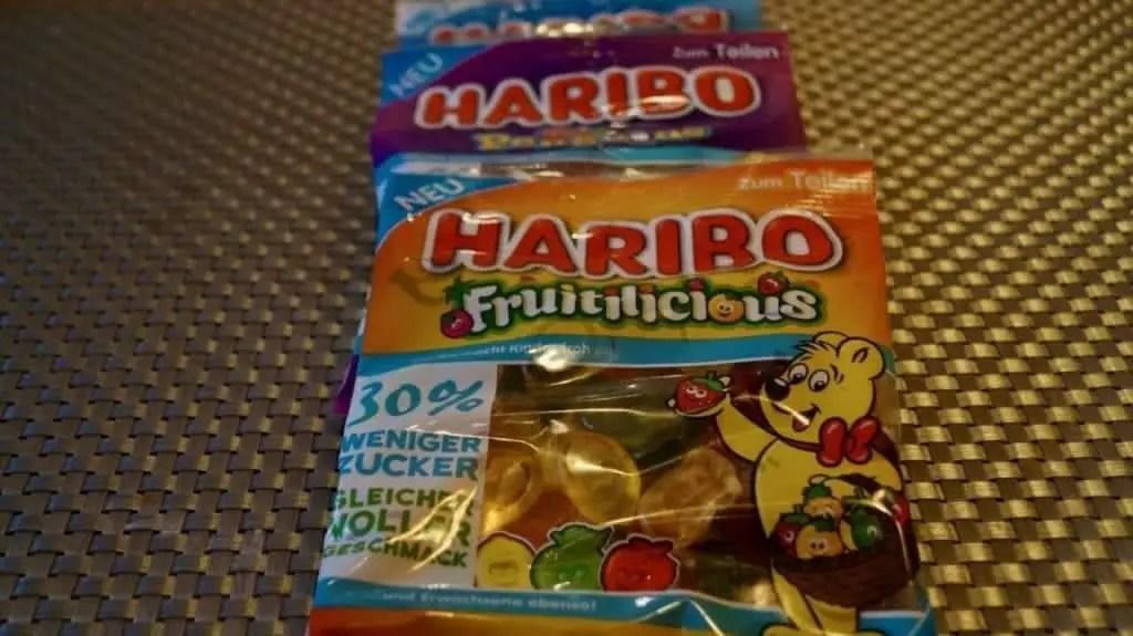 Haribo Gummibärchen mit weniger Zucker