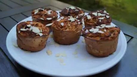 Gesundes Apfel Muffin Rezept