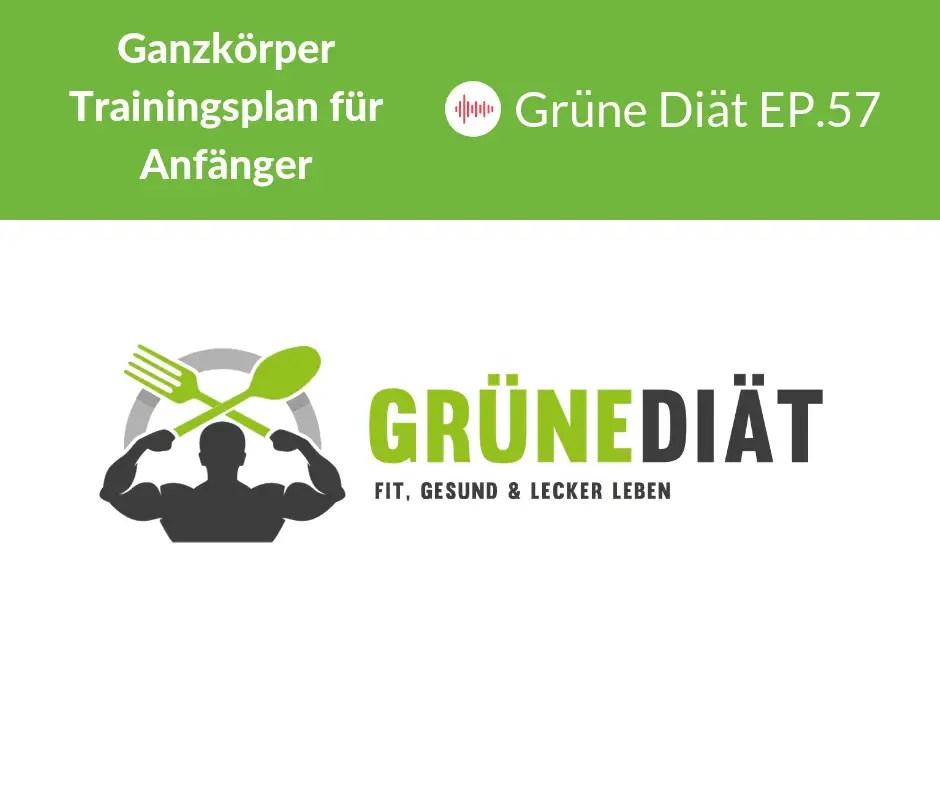 Ganzkörper Trainingsplan für Anfänger - Grüne Diät EP. 57