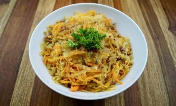 Curry Krautsalat süß-sauer