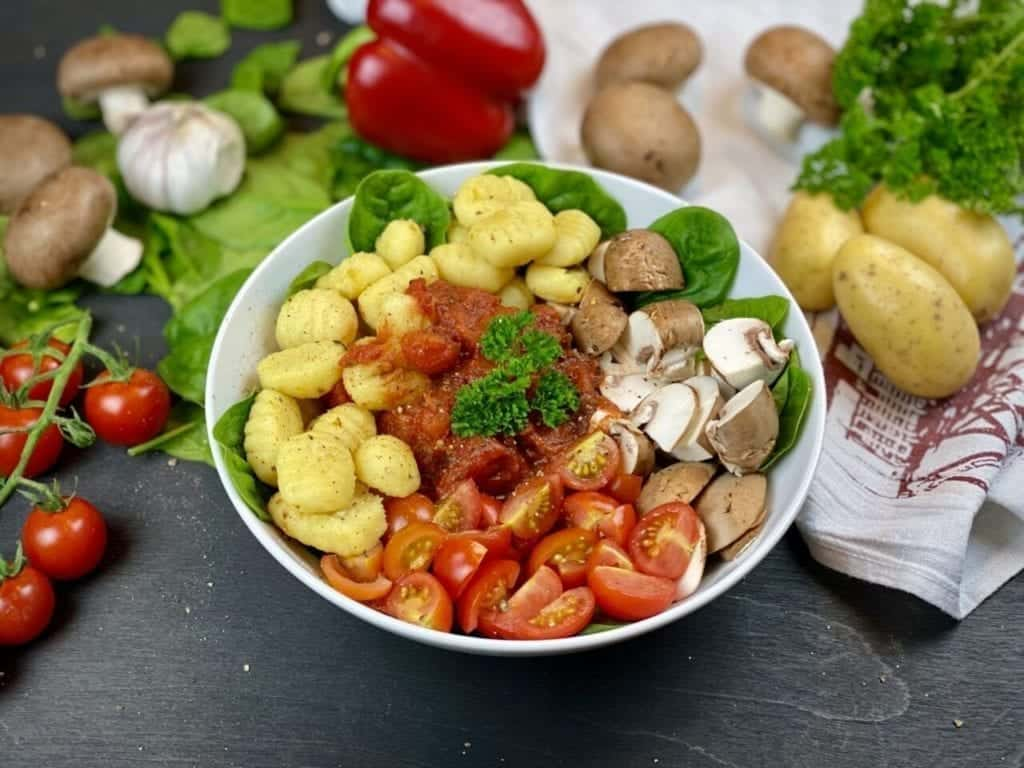 gesunde Gnocchi Bowl