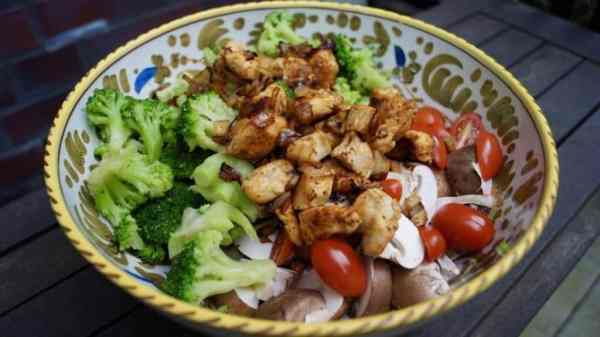 Low Carb Chicken Bowl Recipe