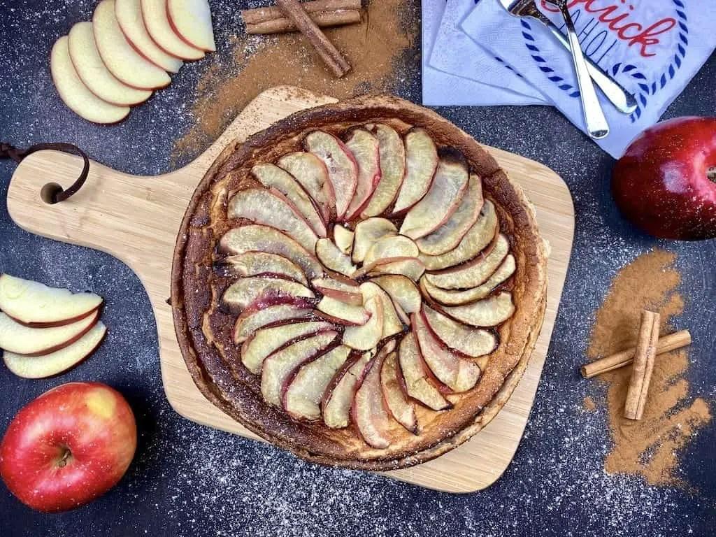 Mein Apfel-Quark Kuchen