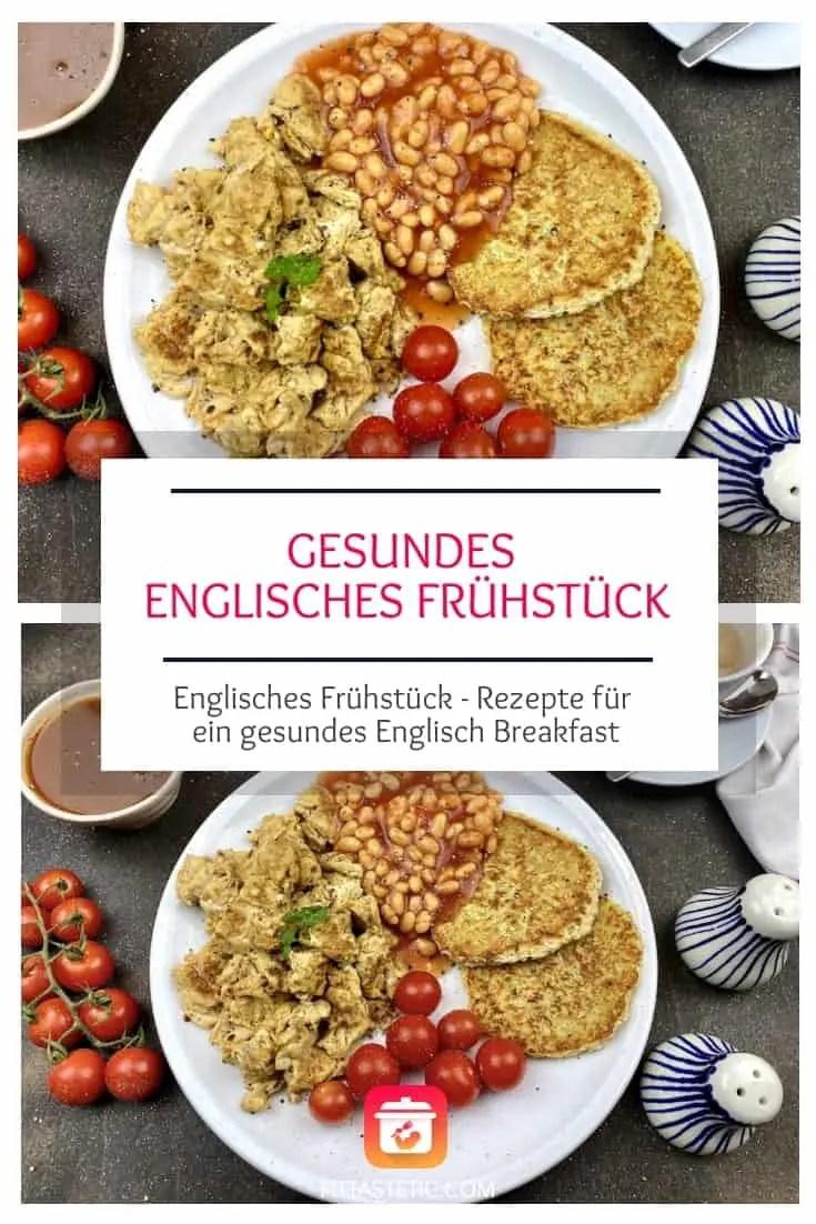 Die beste Version für ein gesundes englisches Frühstücks Rezept! Die gesunde Alternative für ein klassisches Englisches Frühstück mit Ei & Tomaten #frühstück #englisch #rezepte #frühstücksrezepte #gesund #gesunderzepte #fitnessrezepte