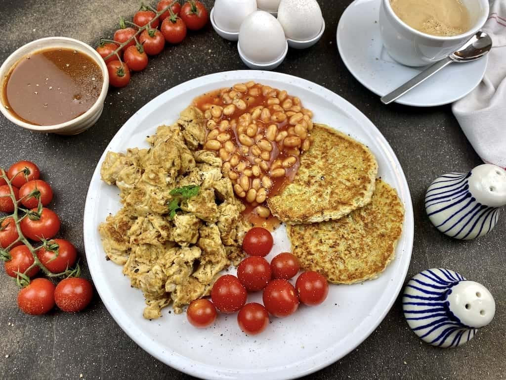 Gesundes englisches Frühstücks Rezept