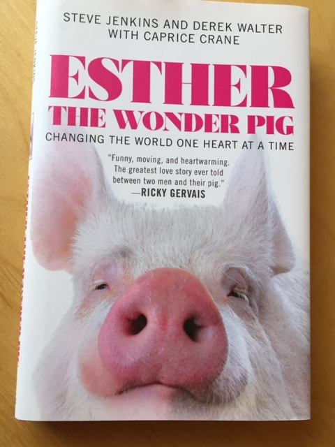 Esther the Wonder Pig is on my Reading Challenge 2018 List!