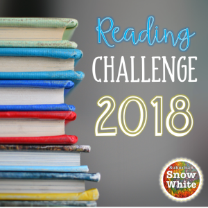 Reading Challenge 2018 for Suburban Snow White.