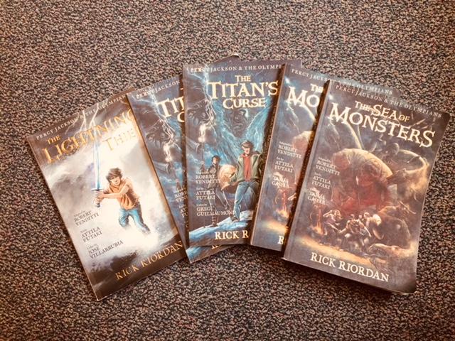 Graphic novels often get kids reading the original series.