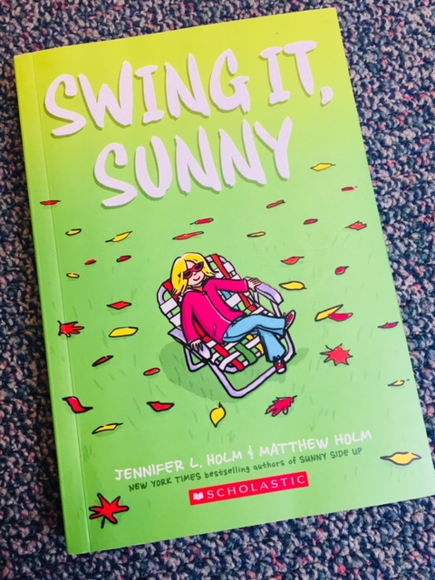 Swing it Sunny was a new arrival to our classroom library this year.