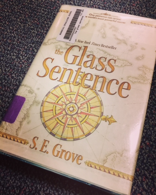 The Glass Sentence is one of those books like Harry Potter. You won't think the same after reading it.