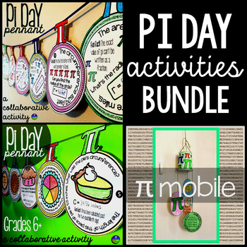 Pi Day bundle from Scaffolded Math and Science