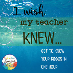 A best teacher uses I wish my teacher knew exercise throughout the year.