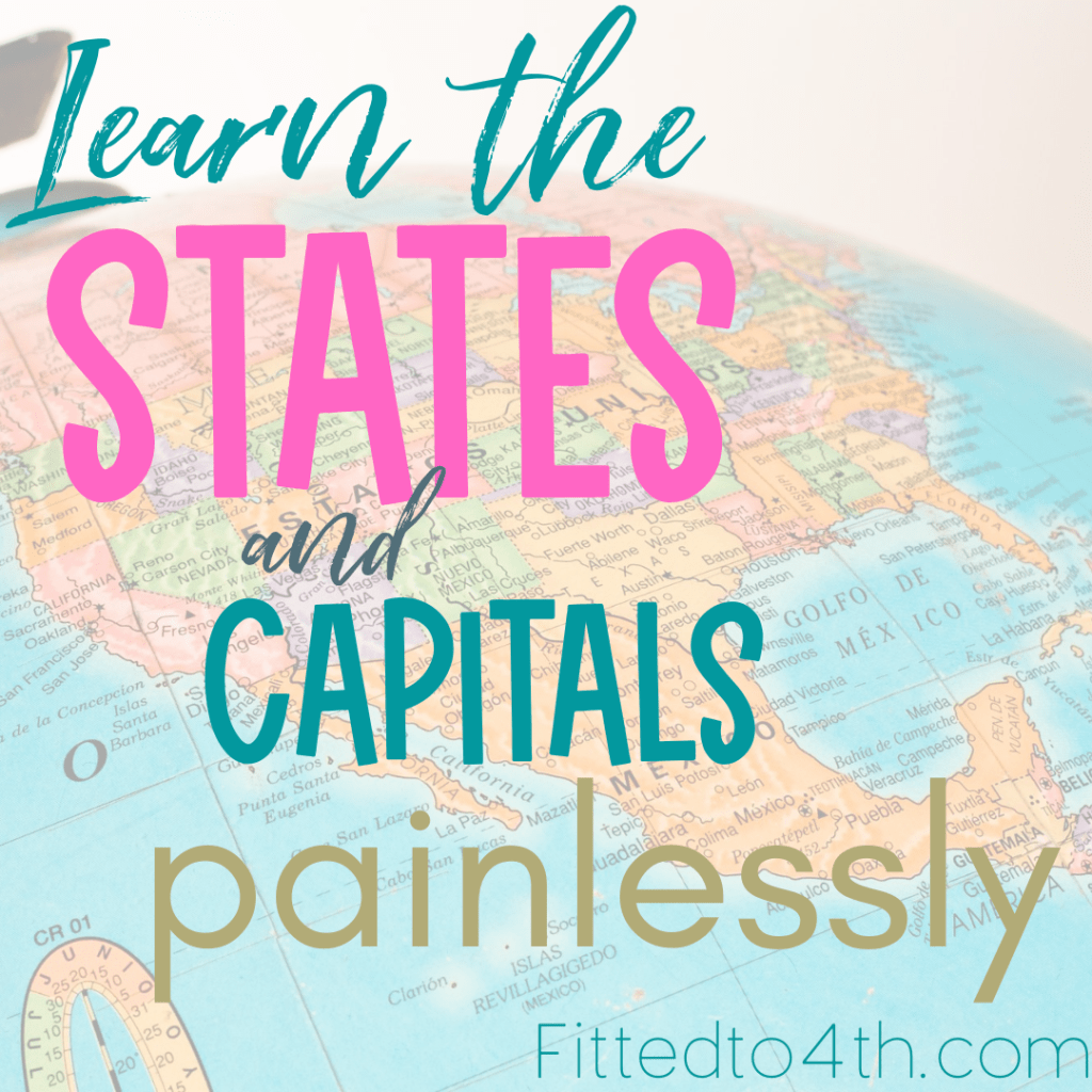 Learn the states and capitals painlessly