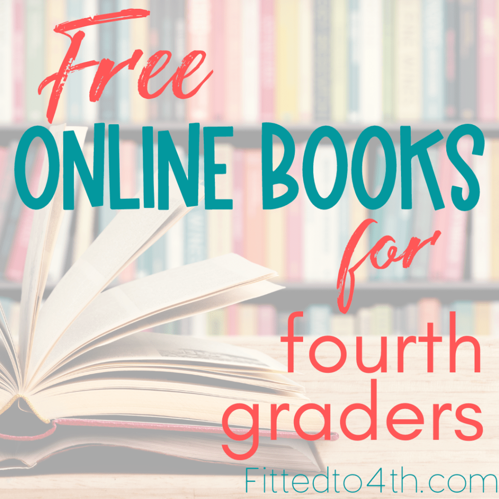 Free Online books for fourth graders!