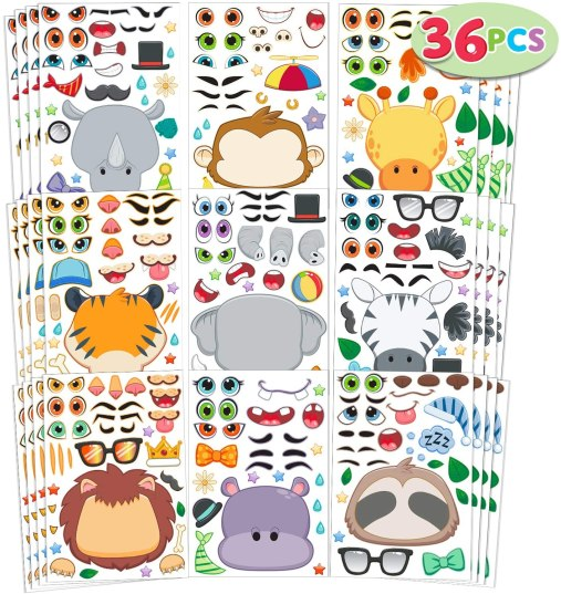 These sticker sets make adorable inexpensive gifts for students!