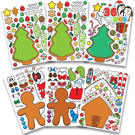 These holiday sticker sets make adorable inexpensive gifts for students!