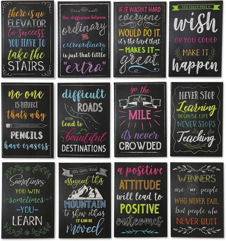 These inspirational mini notebooks make outstanding inexpensive gifts for students.