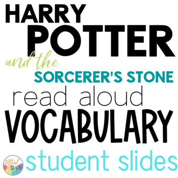 This Harry Potter vocab lesson will save time on your lesson plan work!
