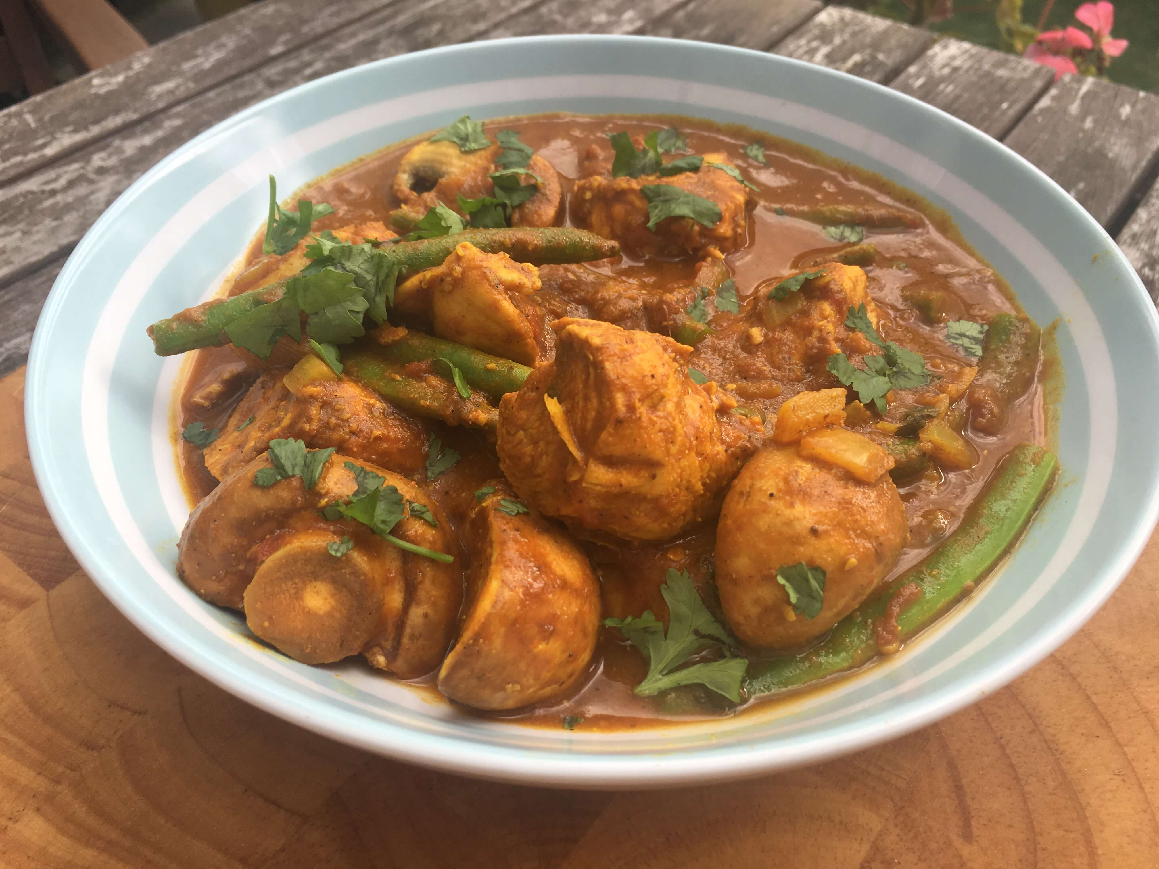 Chicken And Mushroom Curry Fitter Food