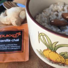 Vanilla, Chai and Ginger Porridge