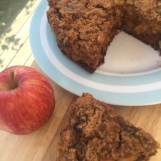 Gluten Free Carrot, Apple and Sultana Cake