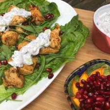 Ras El Hanout Gluten Free Lettuce Wraps