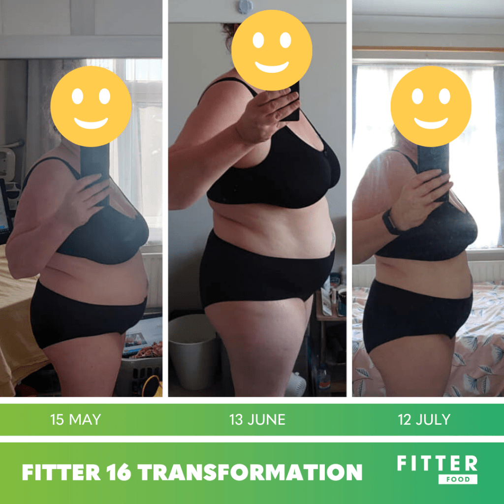 Fitter 16 Transformation Chareen