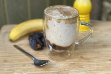 Salted Caramel Protein Latte