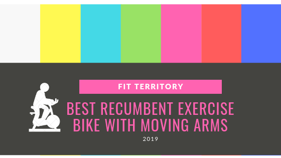 exercise bike with moving arms