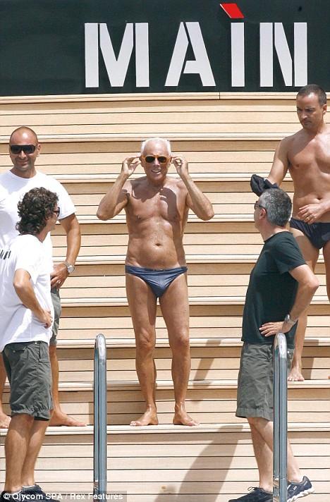 Giorgio Armani Fit At 74