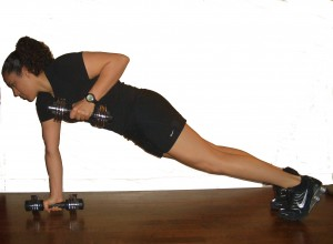 Prone Row Side View