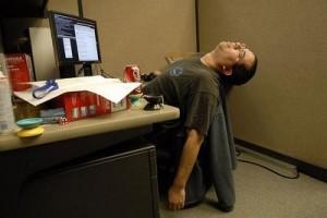 desk job death