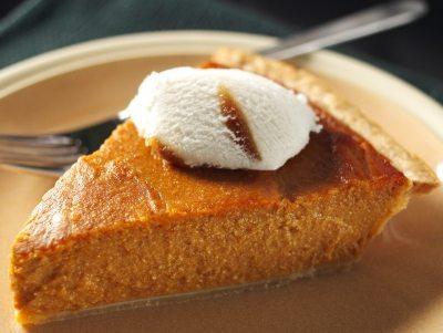 phyllo dough pumpkin pie