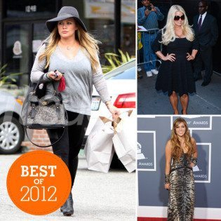 Best of 2012 celebrity Diets
