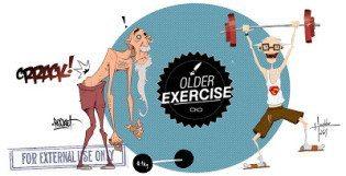 old exerciser