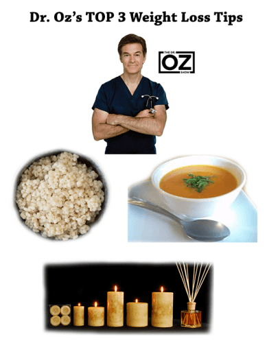Dr. Oz Weight Loss Tips