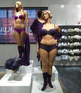 plus size mannequins
