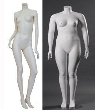 plus sized mannequins