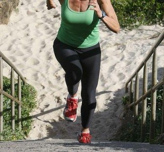 beach workouts