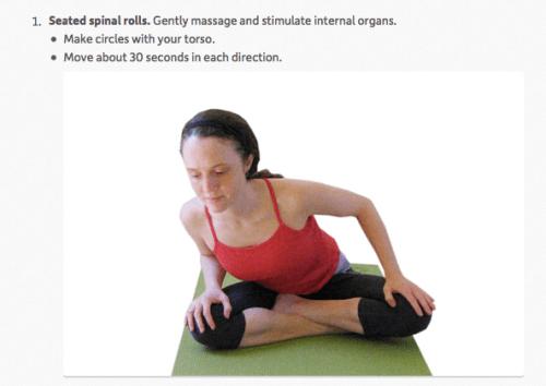 Yoga Tip