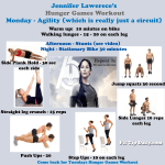 The Hunger Games Workout – Jennifer Lawrence's workout routine