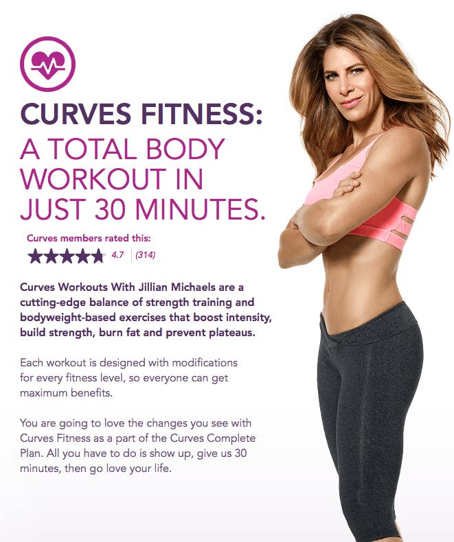 Jillian Michaels and Curves