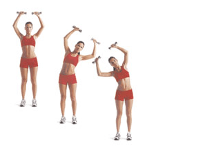 exercises for love handles