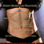 Because Abs Don't Make Themselves – Body Burn Ab Routine
