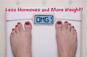 how hormones affect your weight